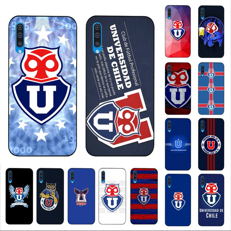 Universidade do Chile YNDFCNB logotipo moda Caixa Do Telefone para Samsung A30s 51 5 71 70 40 10 20 s 31 A7 A8 2018