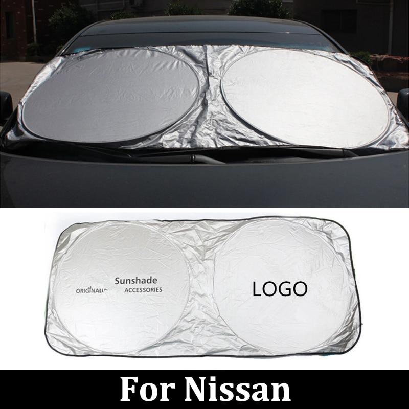 Pára-brisas do carro para nissan gtr r35 teana j31 j32 l33 lafesta b30 b35 qashqai j10 j11 janela dianteira viseira