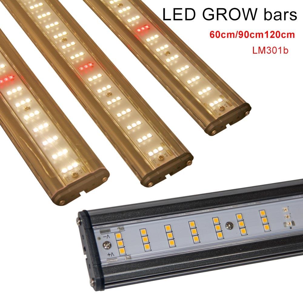 Oferta Amazon Samsung Lm301b 600W alto Par interior Fluence espectro completo hidropónico diy led grow light Barra de viaje