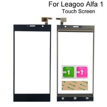 5'' Mobile Phone Touch Screen For Leagoo Alfa 1 Touch Screen Front Glass Digitizer Panel Sensor Touc
