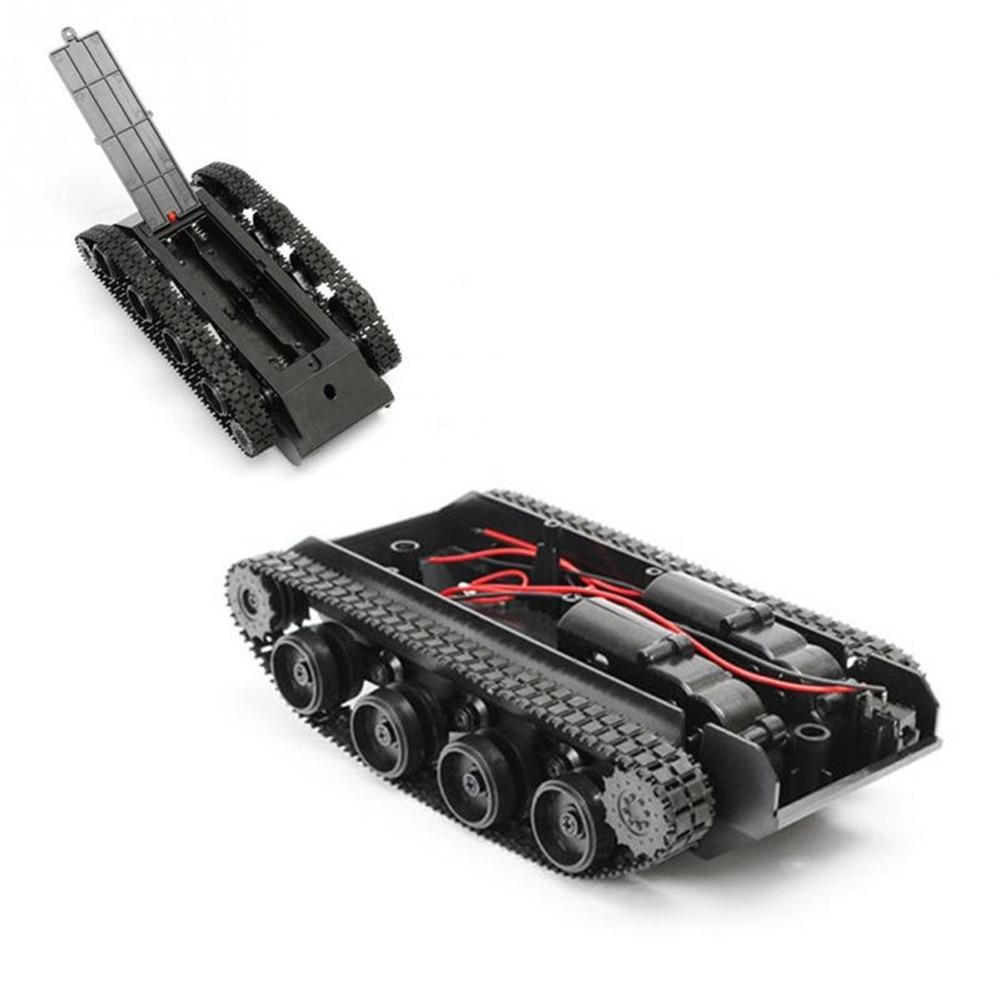RC Tank Smart Robot Tank Light Damping balance Tank Robot Chassis Platform for Arduino 130 Motor diy robot toys for children