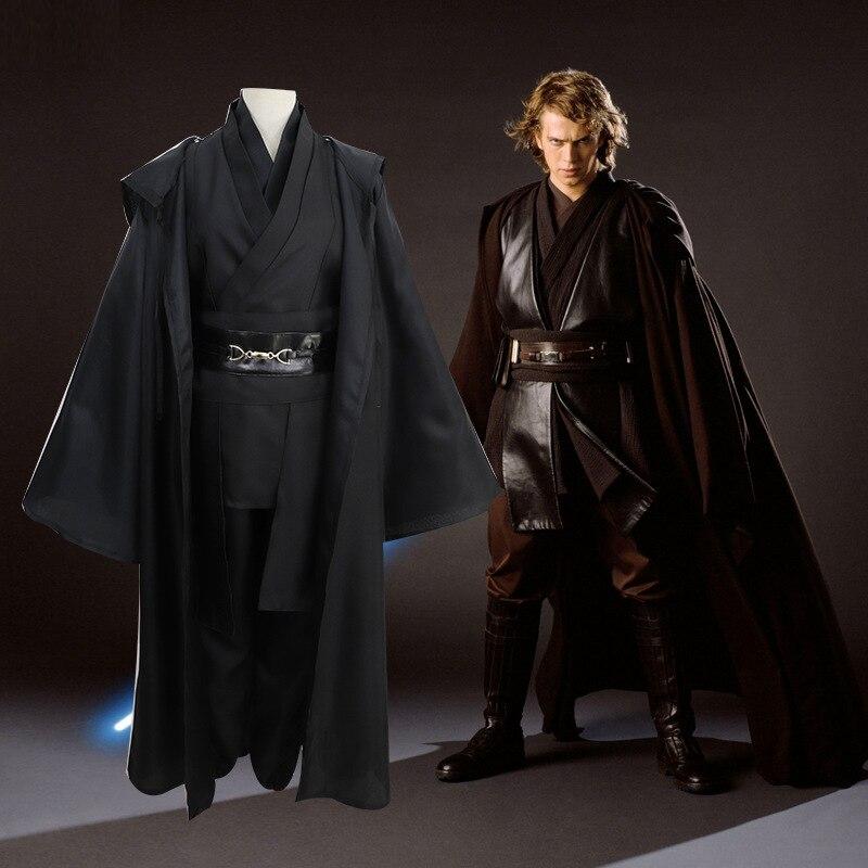 Se puede enviar por correo normalmente disfraz de cosplay de Star Wars Caballero Jedi Darth Vader Sith