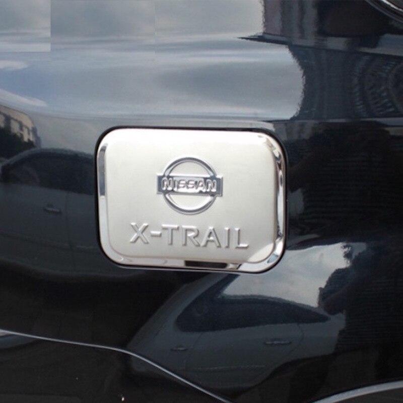 Para nissan x-trail t31 tampa do tanque de gás de óleo decoração saída de ar condicionado guarnição x trail 2008 a 2013 acessórios de estilo do carro