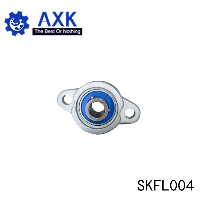 SKFL004 تحمل رمح 20 مللي متر (1 قطعة) SSKFL004 الفولاذ المقاوم للصدأ وسادة كتلة S KFL004 20 مللي متر BearingsAB