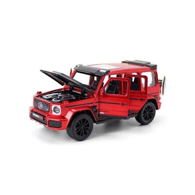 Vehículo de juguete de acero fundido, escala 1:32, barbo G700 AMG SUV,...