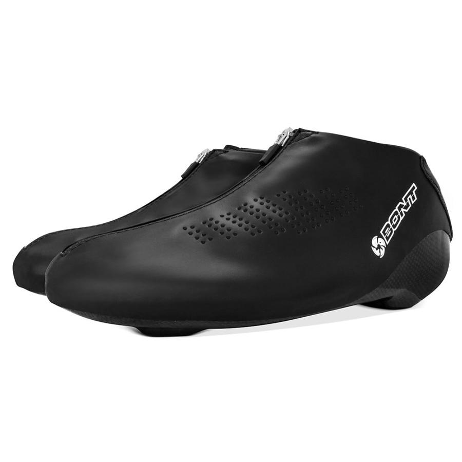 Original Bont Long Track LT Boss botas velocidad hielo en línea Skate Boot Heatmoldable fibra de carbono competencia carreras Patines
