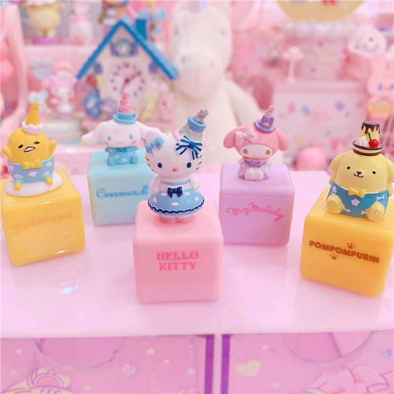 Una caja de dulces dibujos animados, Melody Cinnamoroll, sello personalizado, regalos decorativos