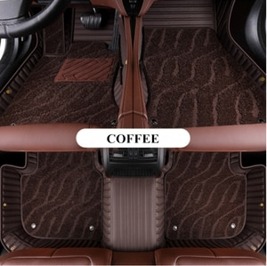 Custom special car floor mats for Lexus LX 450d 5 seats 2020 durable double layers car carpets for LX450d 2019-2015