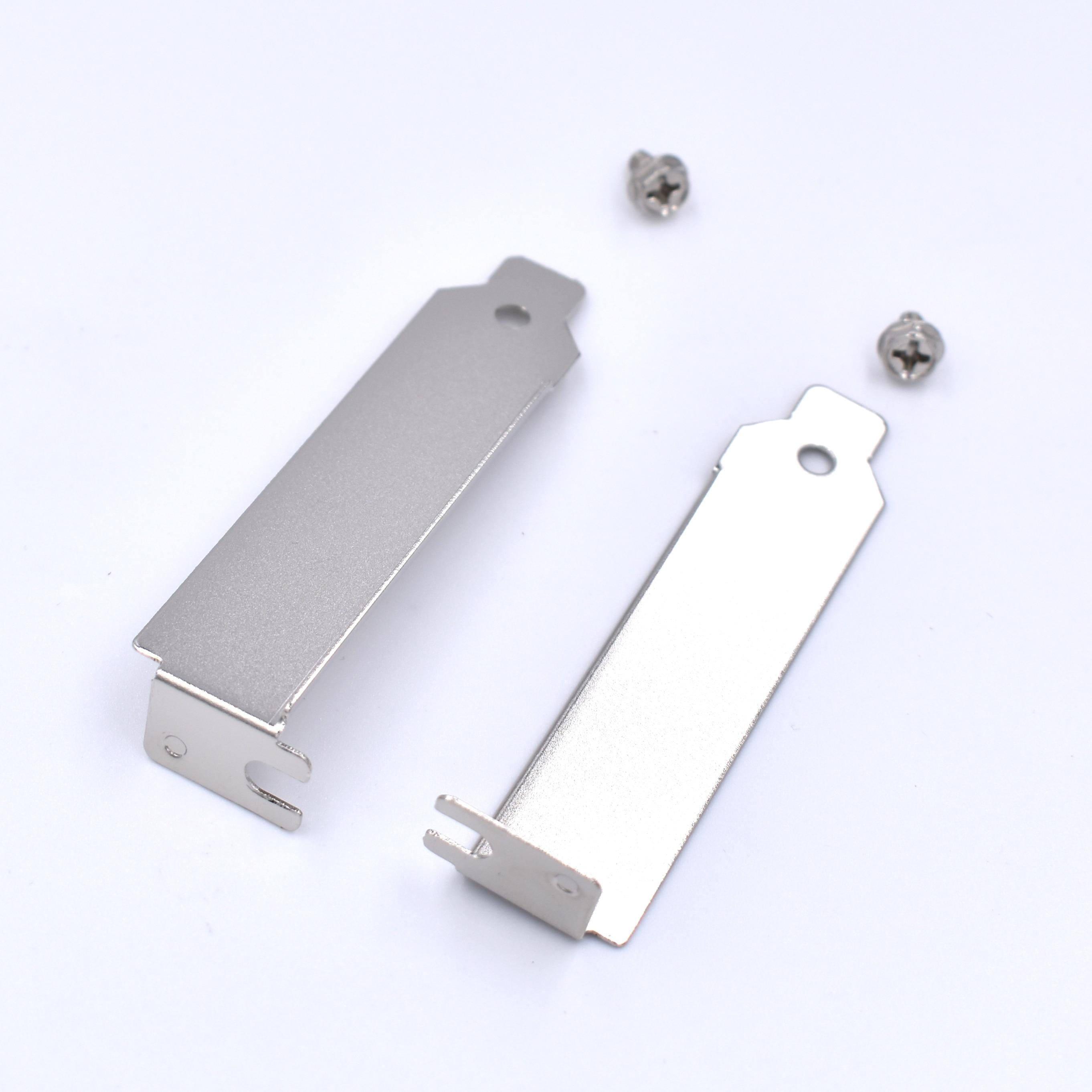 2 шт./лот низкопрофильный чехол ITX SFF задний слот PCI кронштейн 2U пустой наполнитель крышка пластина с винтом