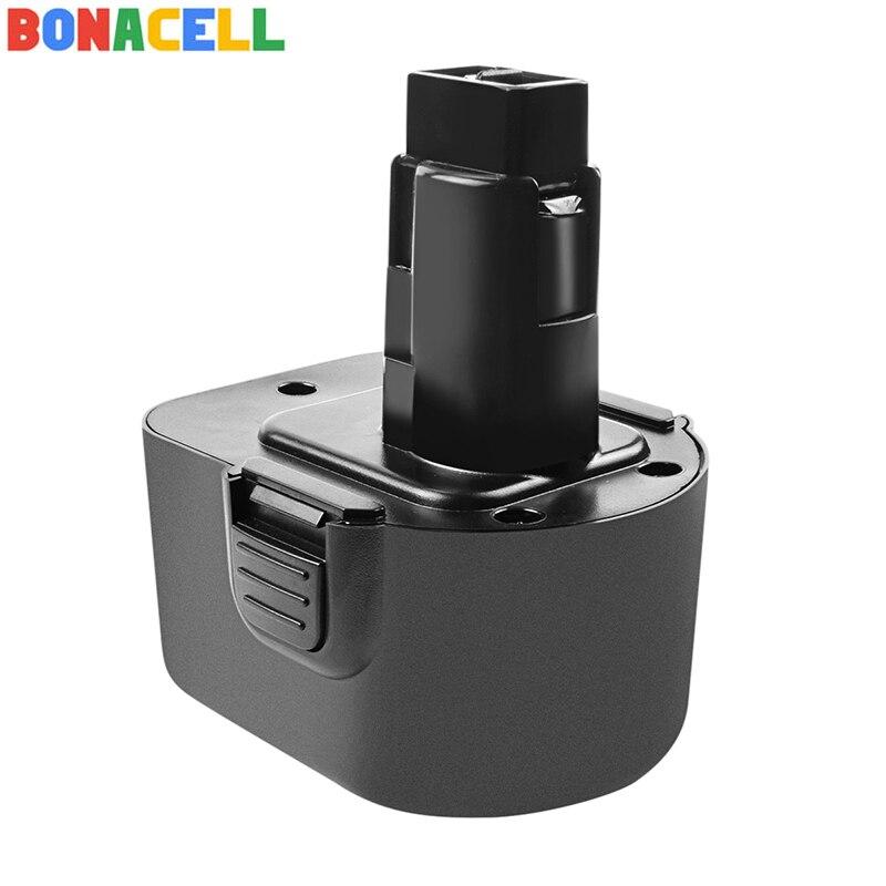 Bonacell 2000mAh Ni-MH DC9071 batería recargable para Dewalt DW9072 DW9071 DC9071 DE9037 DE9071 DE9072 DE9074 DE9075 152250-27