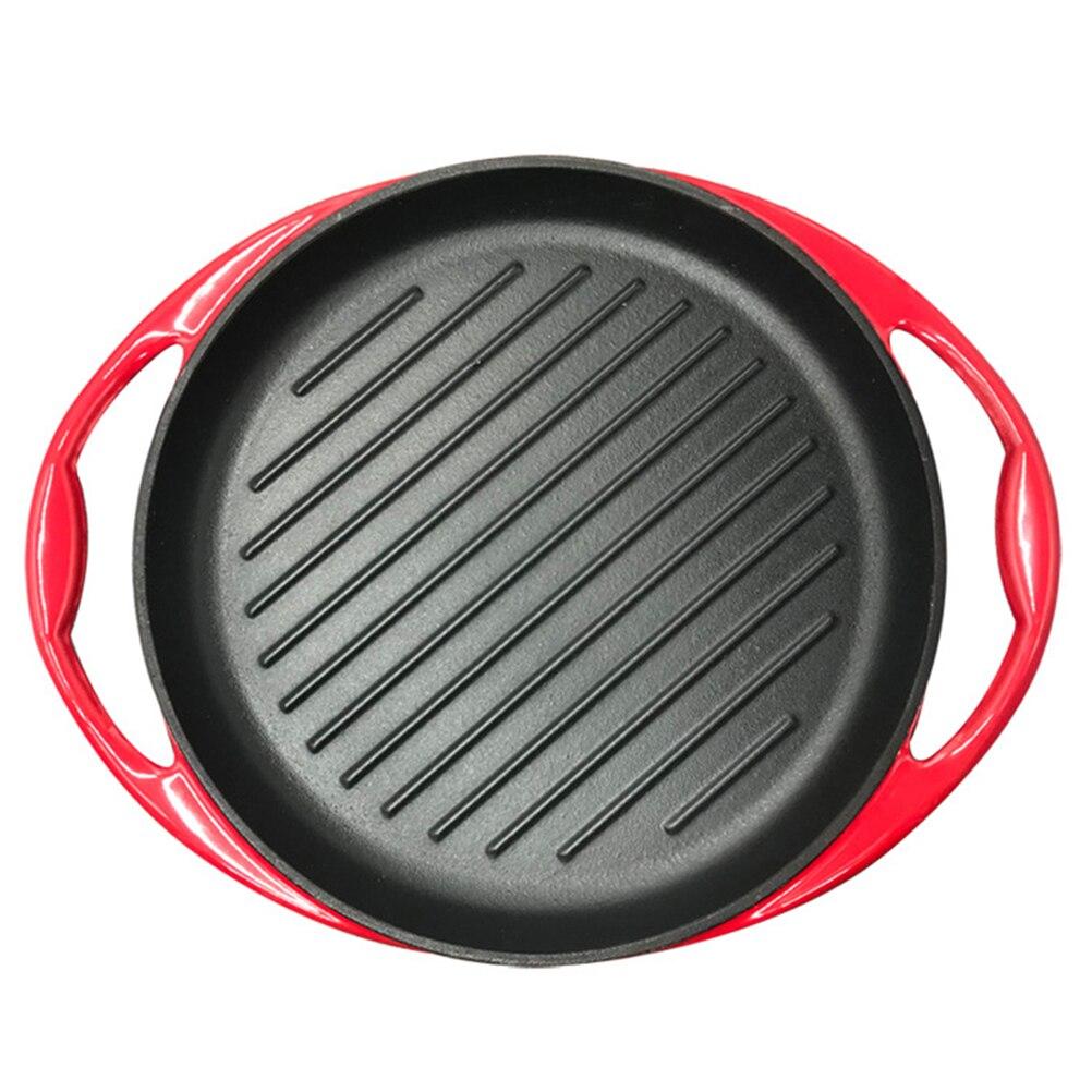 1 قطعة مقلاة غير عصا عموم المنزلية شقة مقلاة الفطائر المحلاة أواني الطهي في المطبخ