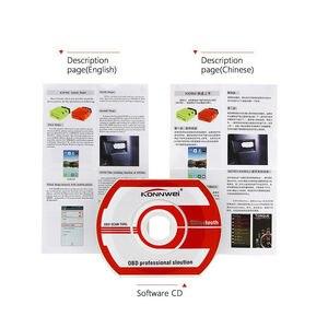Image 5 - Автомобильный диагностический сканер KONNWEI Elm327 V1.5 Bluetooth KW902 OBD2 Elm 327 в 1,5 OBD 2 с чипом V1.5 PIC18F25K80 ELM327 на Android
