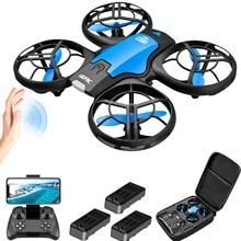 V8 New Mini Drone 4k profession HD Wide Angle Camera 1080P WiFi fpv Drone Camera Height Keep Drones