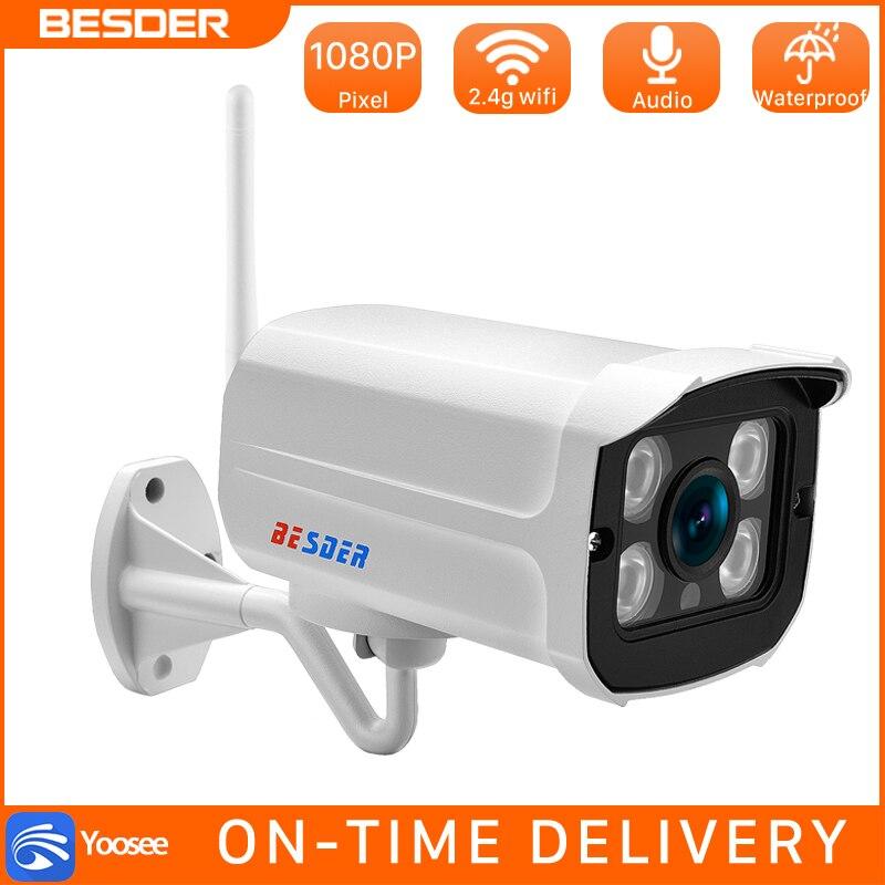 BESDER 1080 P 960 P 720 P Wireless WiFi cámara IP al aire libre dentro de la casa de seguridad CCTV cámara de vigilancia de detección de movimiento app Yoosee