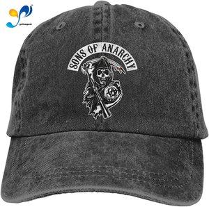 Sons of Anarchy Unisex Adult Cap Adjustable Cowboys Hats Baseball Cap Fun Casquette Cap.