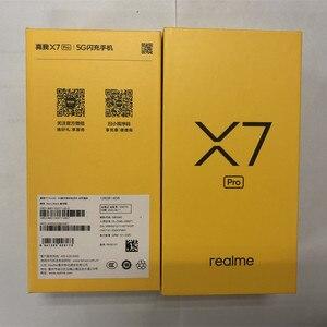 Image 2 - Оригинальный Realme X7 Pro 5G мобильных телефонов 120 Гц Частота обновления экрана 6,5 дюймов 4500 мАч батарея 65 Вт Быстрая зарядка 64MP NFC Смартфон