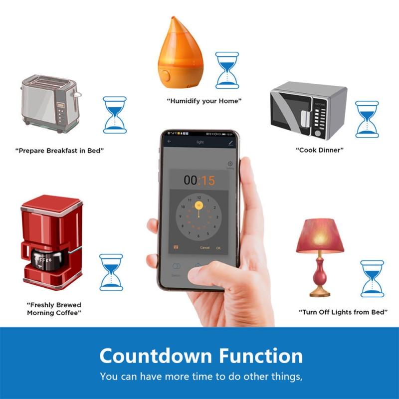 WiFi 433 Remote Control WIFI Tuya Smart Life Smart Switch Module Support Google Home Amazon Alexa Voice Speaker Control