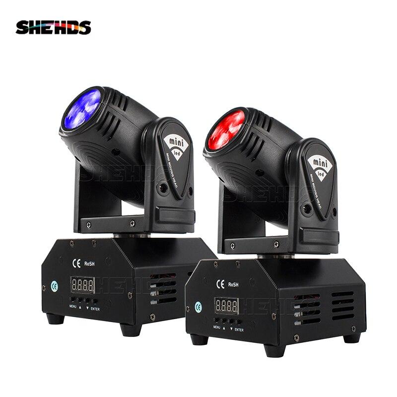 2/4 قطعة البسيطة 10W RGBW LED بقعة شعاع تتحرك رئيس ضوء مناسبة ل DJ ديسكو حزب الزفاف شريط SHEHDS المرحلة الإضاءة شحن سريع