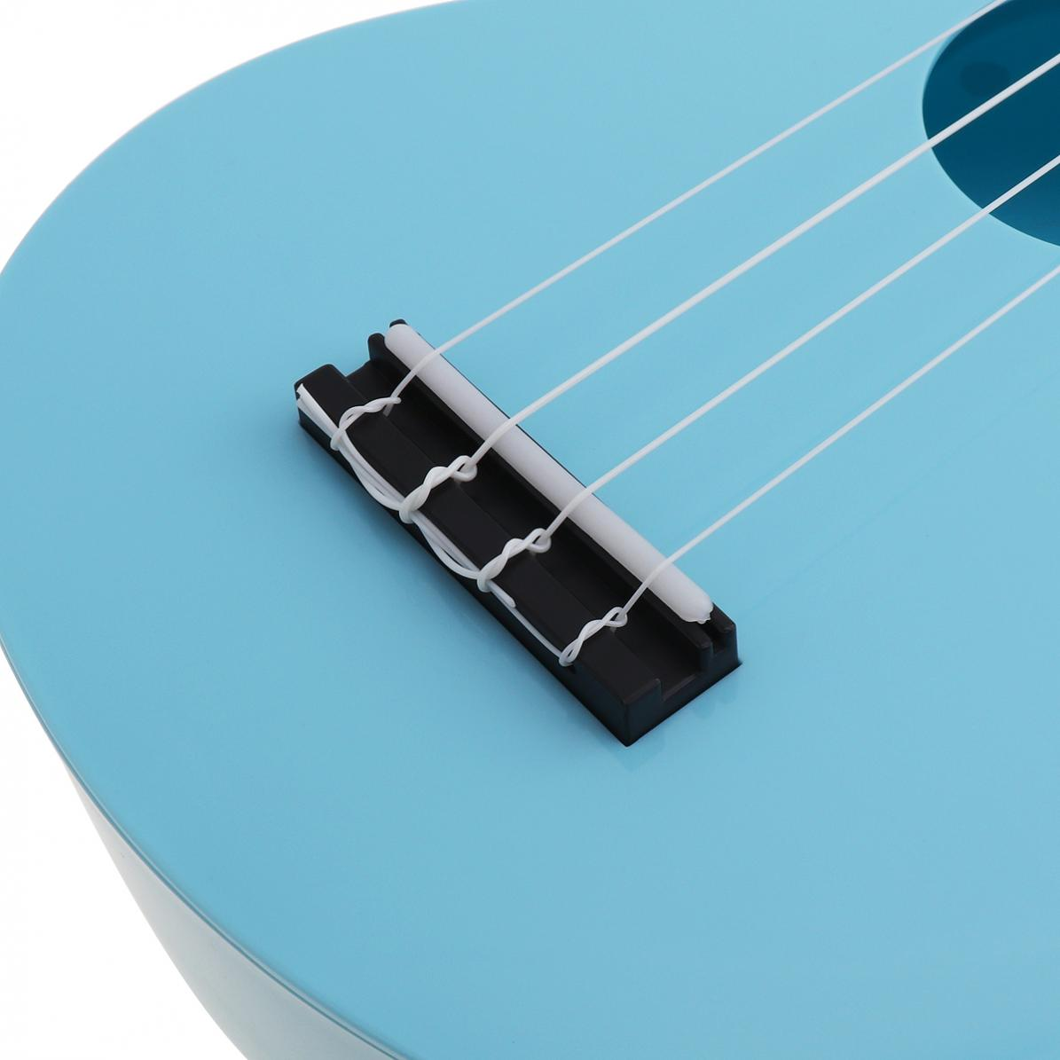 21 Inch Soprano Ukulele Colorful Acoustic 4 Strings  Plastic Hawaii Guitar Instrument for Children and Music Beginner enlarge