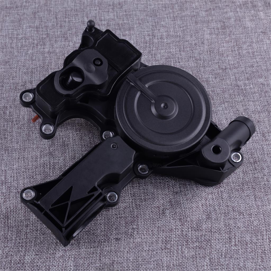Separador de aceite negro montaje de válvula PCV ABS apto para Audi A4 Q5 TT VW Volkswagen Jetta Golf GTI 06H103495B 06H103495E