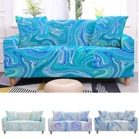 3d marble sofa cover water color couch cover elastic slipcover stretch sectional sofa cover armchair slipcovers for living room