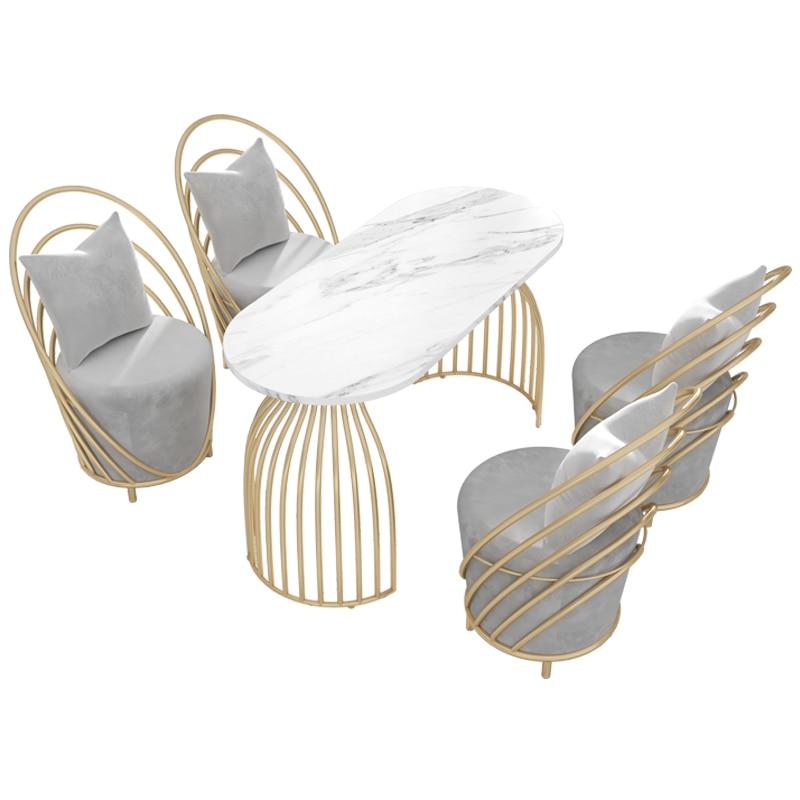 Стулья Nordic 140 см, кофейный столик, набор из 4 предметов, деловая мебель, мраморные письменные столы для приема, Настраиваемые складные письменные столы для школьника купить