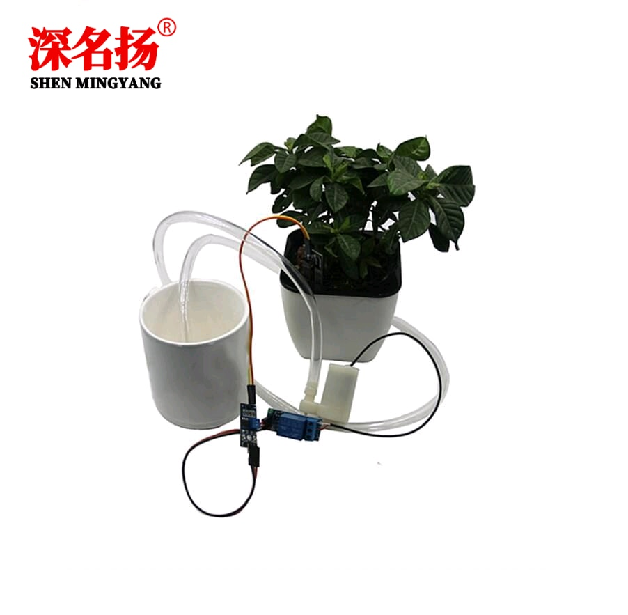Automatic watering, water pump, automatic irrigation module DIY kit, soil moisture detection, automatic watering, pumping