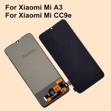TFT LCD pour Xiaomi Mi A3 écran daffichage à cristaux liquides écran tactile numériseur assemblée LCD pour Xiaomi Mi CC9e MiA3 remplacement de laffichage