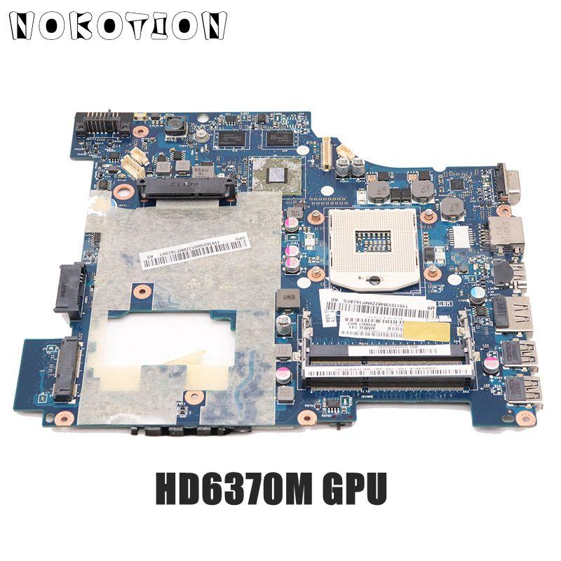 NOKOTION PIWG1 LA-6751P 11S10250000 لينوفو ideapad G470 14 بوصة محمول اللوحة HM65 DDR3 HD6370M الفيديو بطاقة
