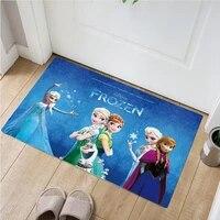 waterproof anna elsa play mat frozen2 door mat kitchen rugs bedroom carpets decorative stair mats home decor crafts kids rug