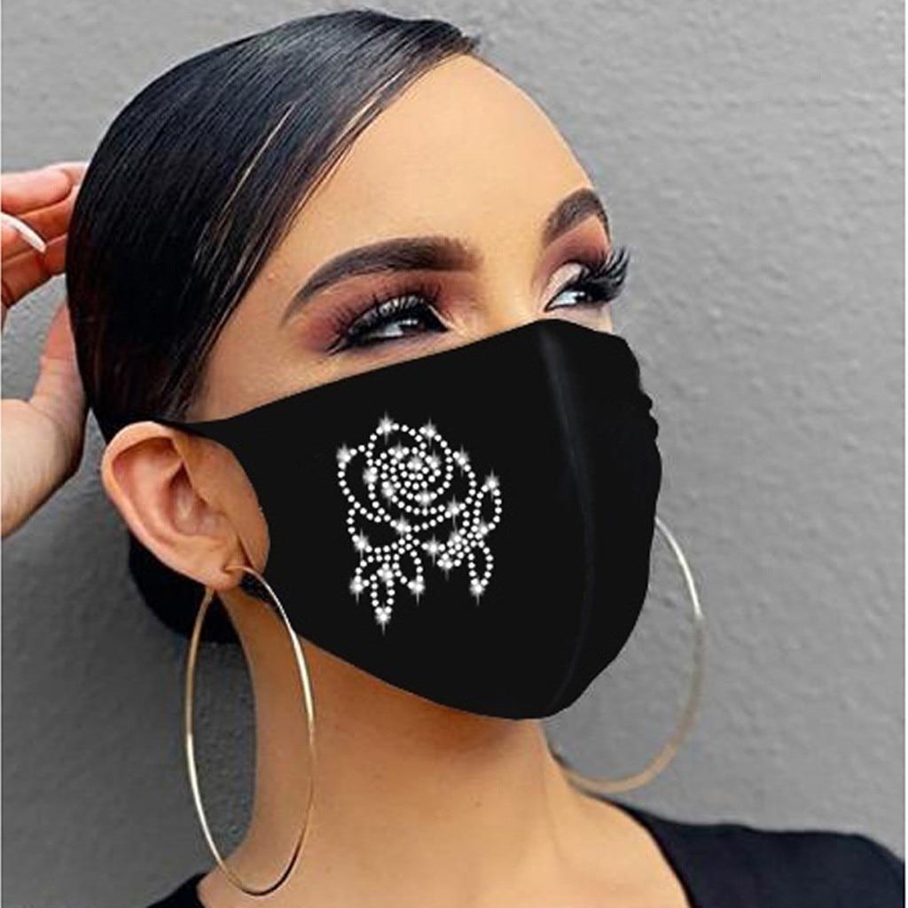 Maskë për maskara kristali zonjat e partisë nxehtë diamanti - Bizhuteri të modës - Foto 4
