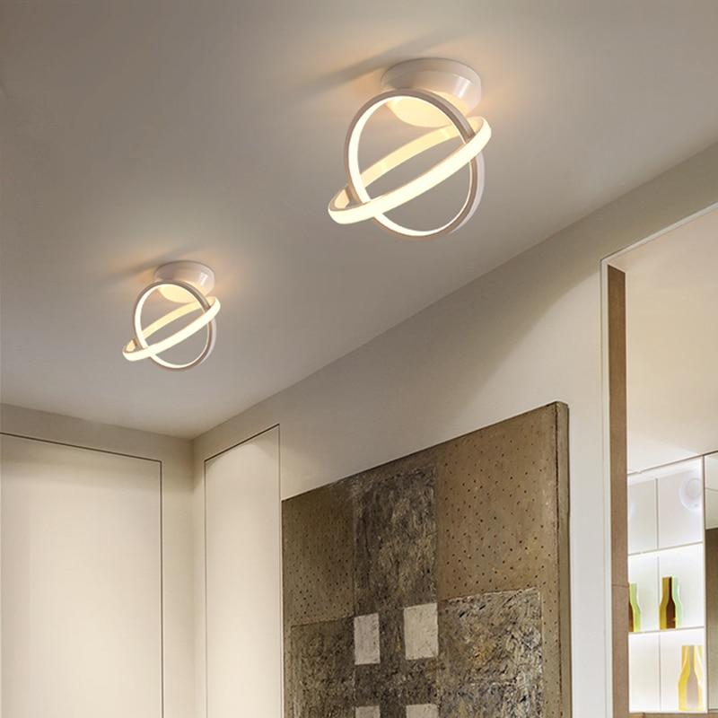 moderno led luzes de teto do corredor para casa entrada varanda nordic quarto lustre