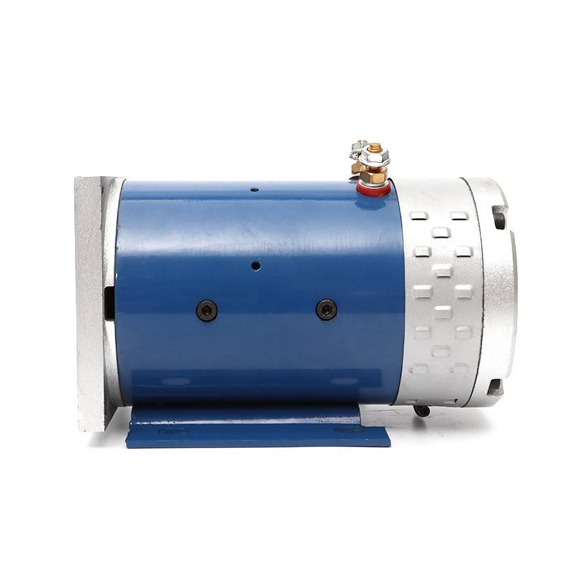 Factory Direct Pin 48V 60V 72v800w DC Motor Power Unit Motor Copper Wire Movement Oil Pump Motor The Brush DC Motor Electrical enlarge