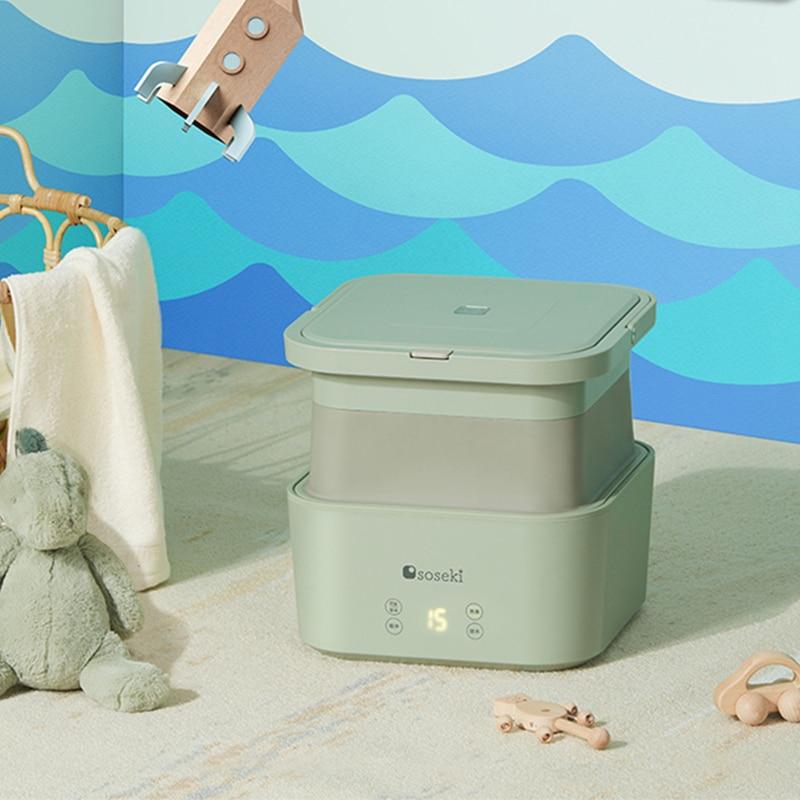 JAS0014 Japan Soseki Mini Washing Machine Home Folding  Underwear Baby Socks Washer Portable стиральные машины lavadora portatil