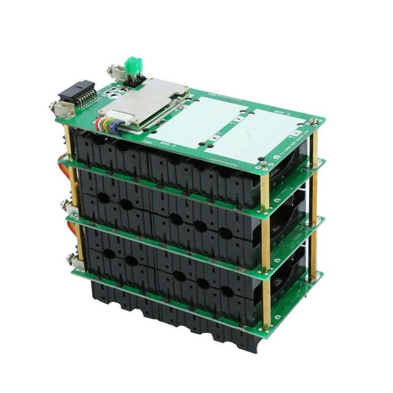 18650 batterie halter 7S power bank lithium-batterie balance Blutooth 20A 40A 60Aebike elektrische auto fahrrad 18650 batterie box