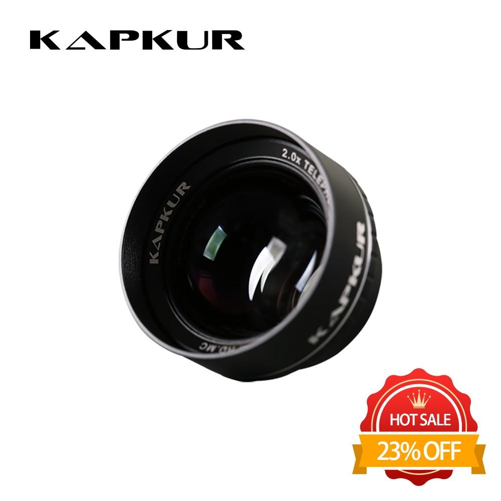 Kapkur phone lens , 2.0X HD 4K telephoto lens for iPhone series phone ,  with Kapkur phone case