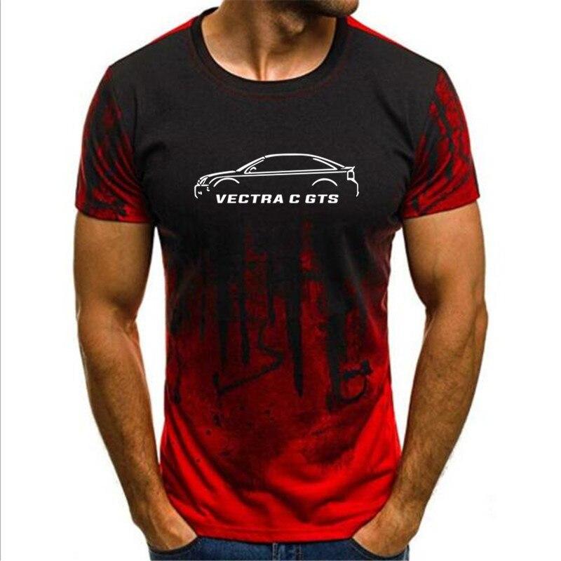 2019 Camouflage Short Sleeve tshirt Fashion Man Opel Vectra C Gts Inspired Classic Car T-shirt Men's T shirts Print T-shirt