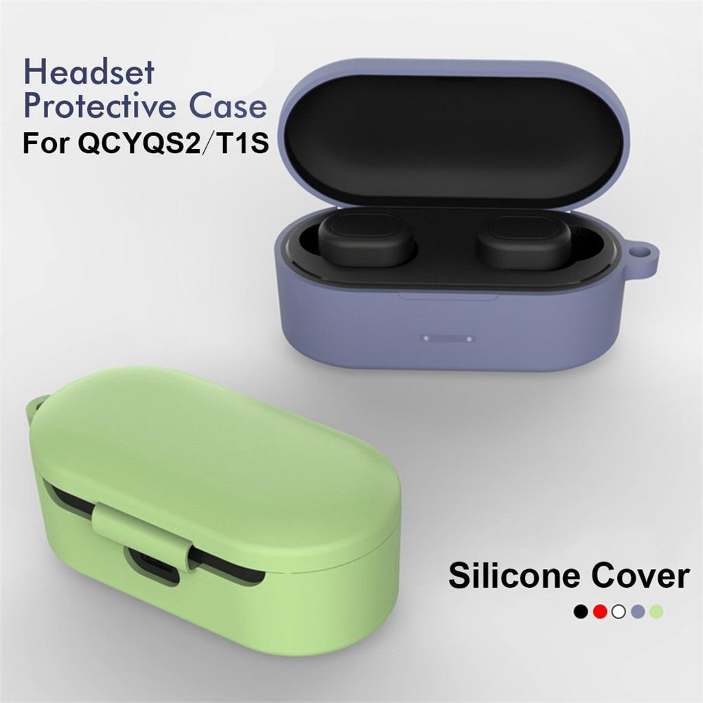 Accesorios para auriculares, funda de silicona con hebilla antipérdida, funda protectora para...