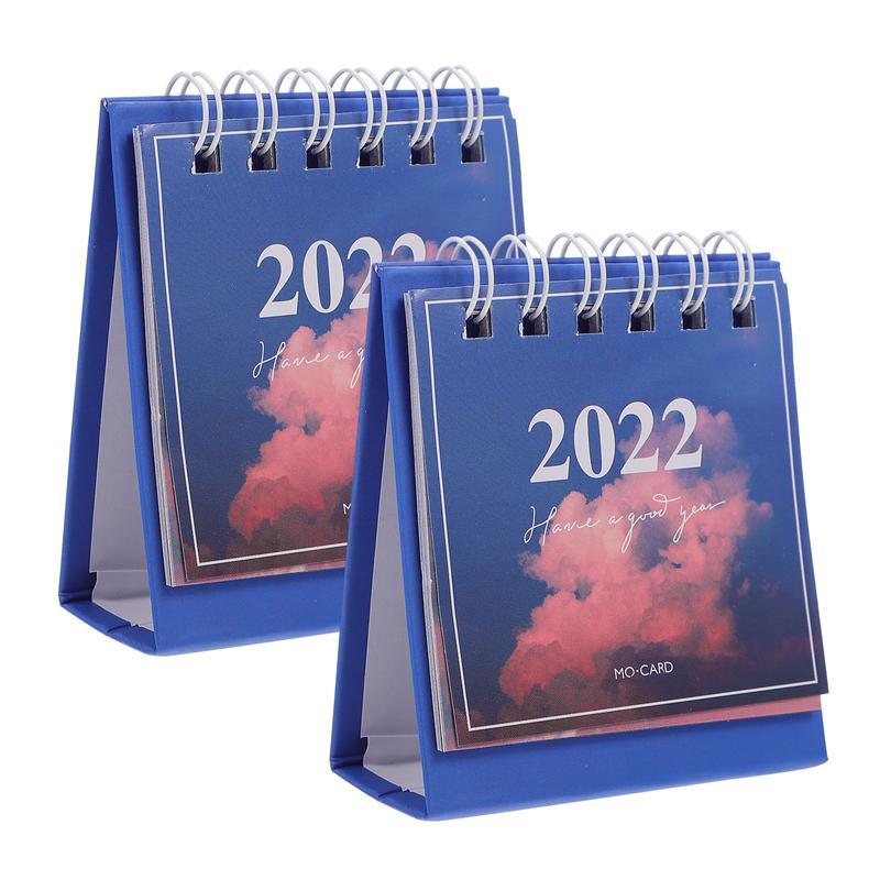 2 шт., настольные мини-календари 2022
