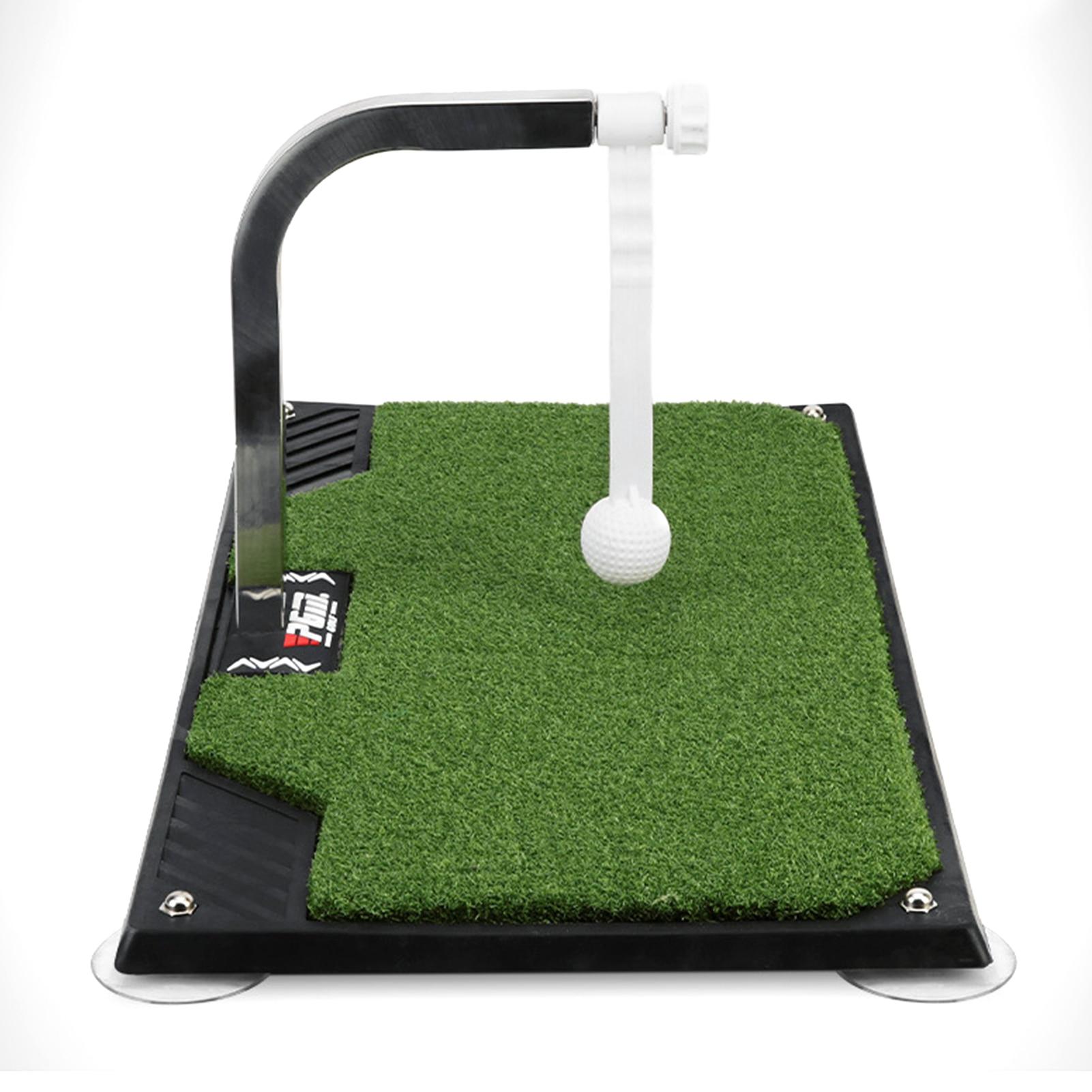 62 X 33.5 X 23.5cm Golf Swing Putting 360 Rotation Golf Practice Putting Mat Golf Putter Trainer Green  Beginners Training Aids