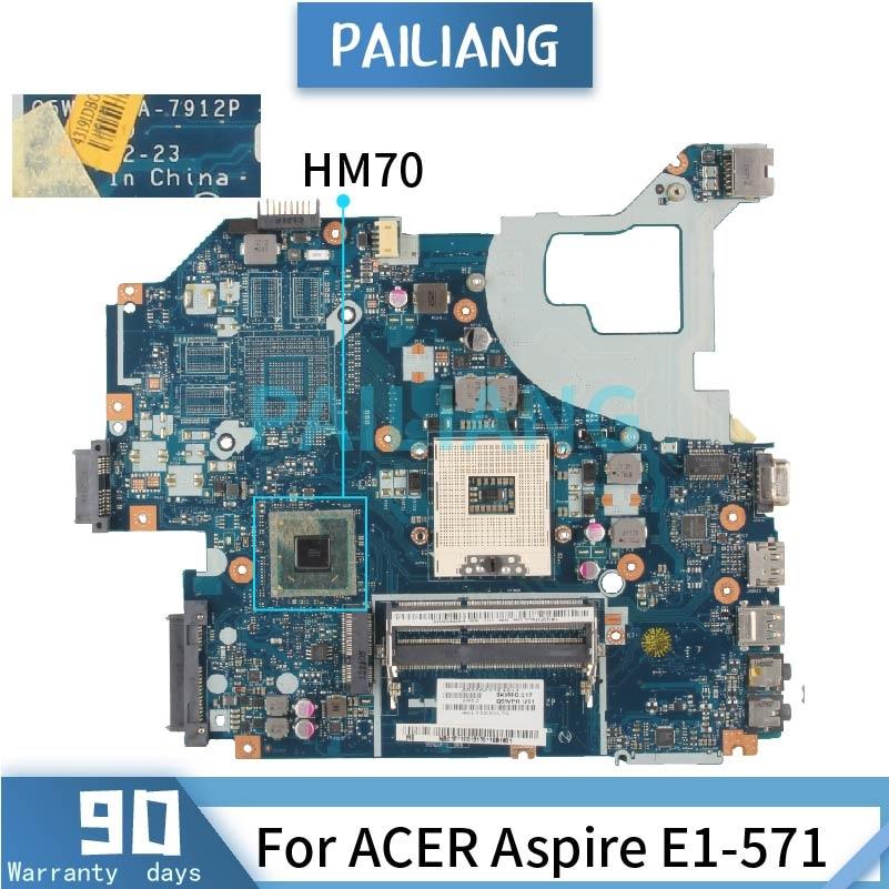 LA-7912P لشركة أيسر أسباير V3-571 V3-531 SJTNV الأم الكمبيوتر المحمول DDR3 اختبار موافق