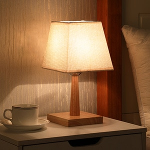USB Plug-in Fabric Table Lamp Bedroom Bedside Lamp Led Dimming Household Warm Light Night Light Table Lamp  Bedside Lamp