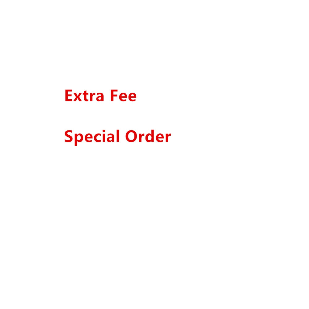 Pedido especial, coste de envío, precio de producción adicional, enlace de pago
