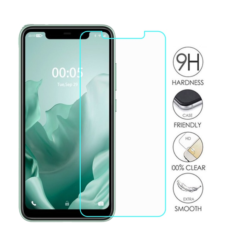 2PCS Tempered Glass Screen Protector For Oukitel C22 Cristal Protective Glass Phone Film for Oukitel C22 C 22 Pelicula De Vidro