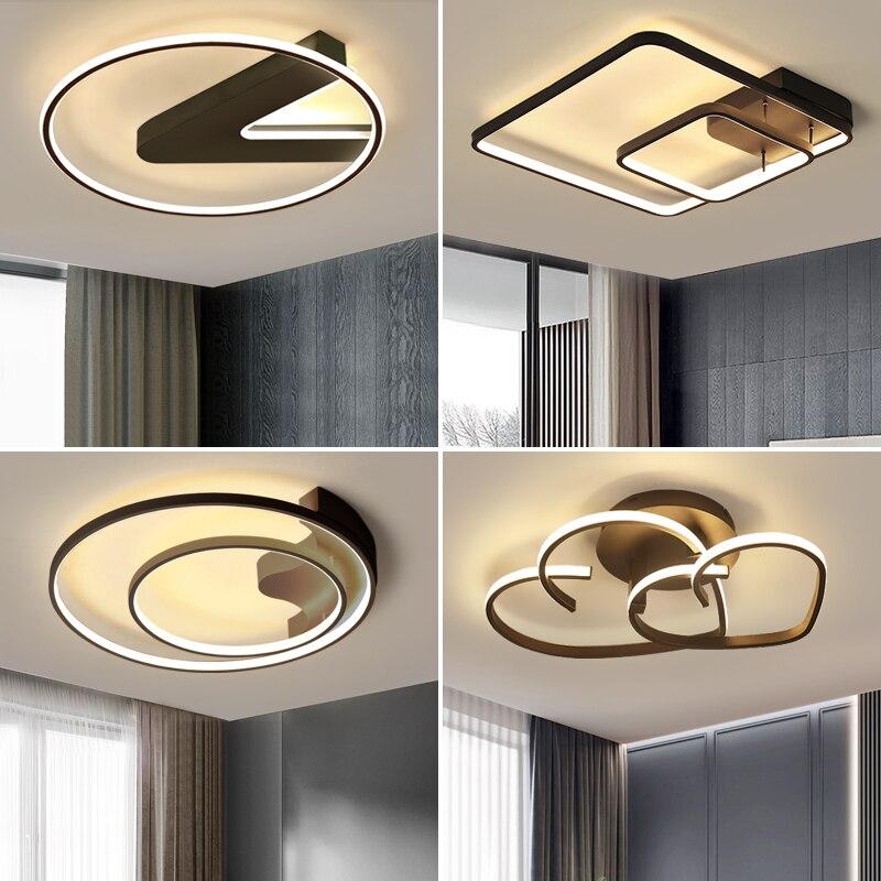Lámpara de techo led, simple, moderna, atmosférica, hogar, dormitorio, lámpara creativa, amor, habitación, nuevas lámparas en 2019