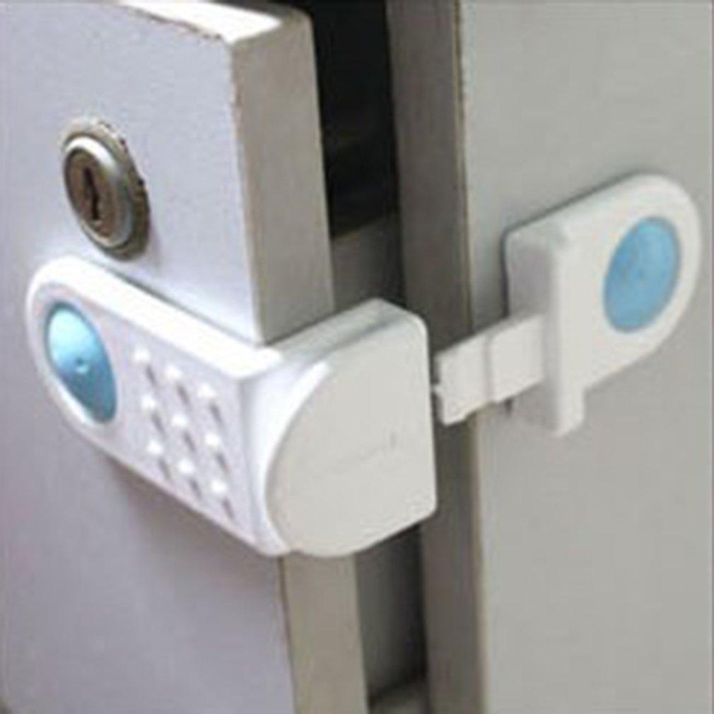 Блокираторы для дверей шкафов, шкафов, унитазов, замки для безопасности детей, пластиковые замки, защита для младенцев, защита для детей