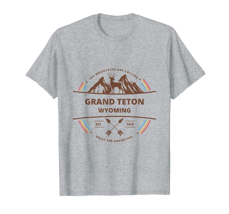 Футболка для мужчин и женщин Grand Teton National Park Gift