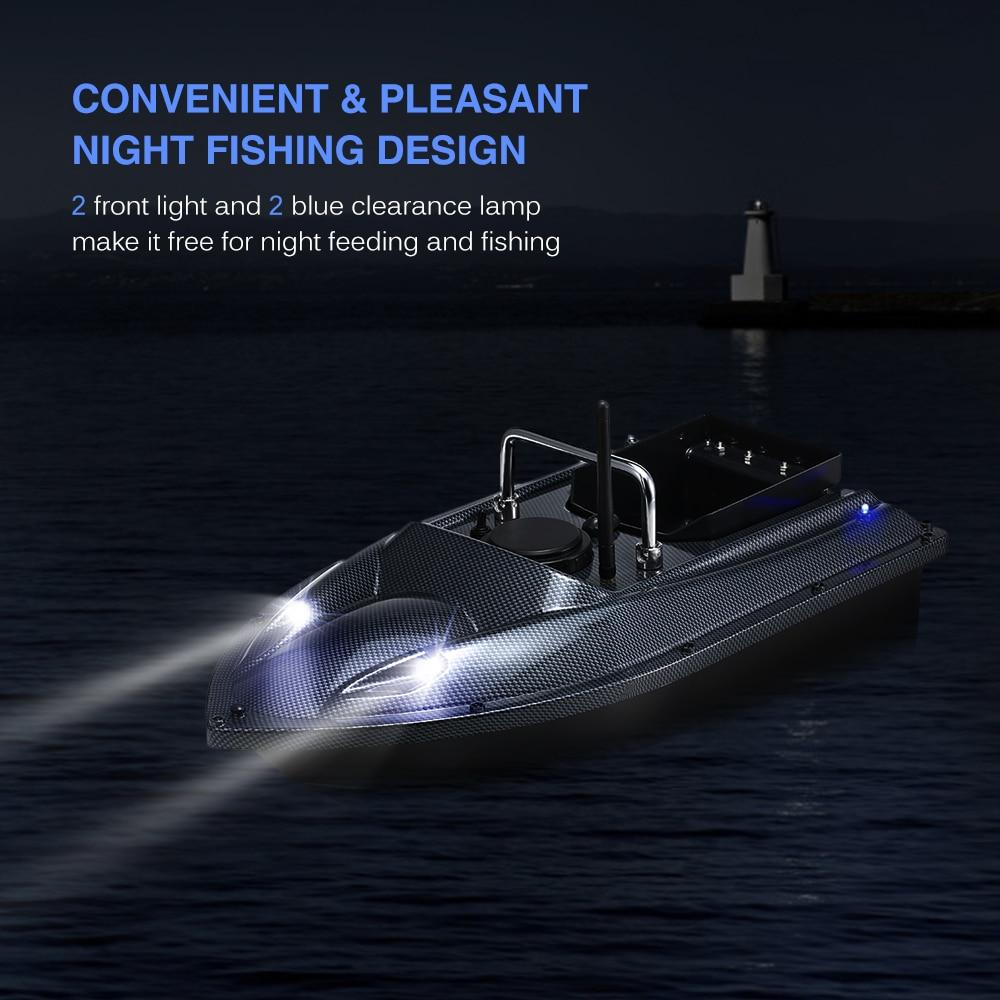 C118 Smart RC Bait Boat Toys Wireless Fish Finder Ship Boat Remote Control 500M Fishing Boats Speedboat Fishing Tool UK/EU Plug enlarge