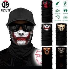 3D бесшовные многофункциональные Волшебные трубки вампир, демон, Череп, защита лица, повязка на голову, бандана, головной убор, кольцо, шарф для мужчин, новинка