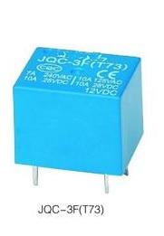 10PCS JQC-3F (T73) 3V 5V 6V 9V 12V 18V 24V JQC-3F (T73) 3VDC 5VDC 6VDC 9VDC 12VDC 18VDC 24VDC 10A 5-Pin Relé Eletromagnético